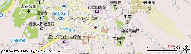 大分県竹田市竹田町104周辺の地図