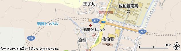 大分県佐伯市鶴望2744周辺の地図