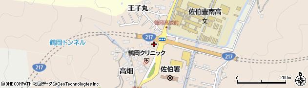 大分県佐伯市鶴望2755周辺の地図