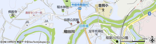 大分県竹田市飛田川1889周辺の地図