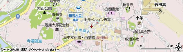 大分県竹田市竹田町231周辺の地図