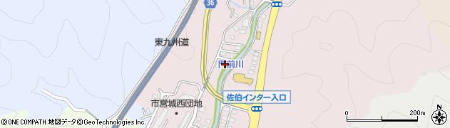 大分県佐伯市上岡2296周辺の地図