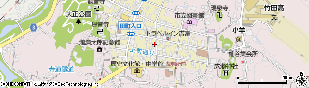 大分県竹田市竹田町239周辺の地図