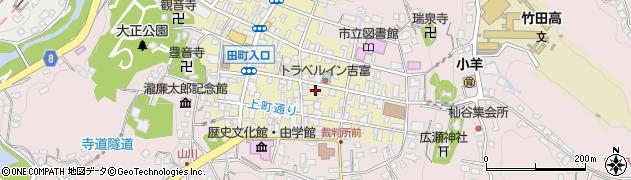 大分県竹田市竹田町124周辺の地図