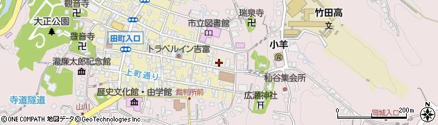 大分県竹田市竹田町163周辺の地図