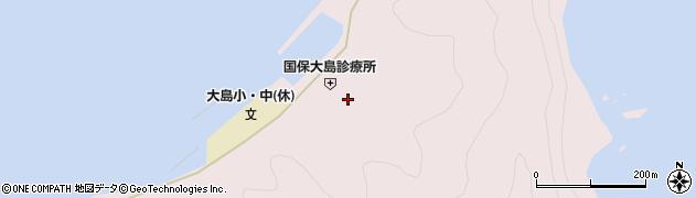 大分県佐伯市鶴見大字大島901周辺の地図
