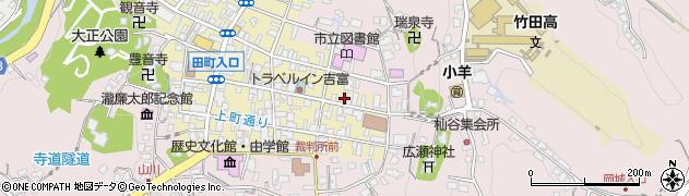 大分県竹田市竹田町154周辺の地図