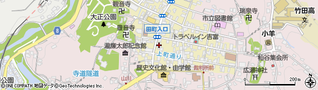 大分県竹田市竹田町389周辺の地図