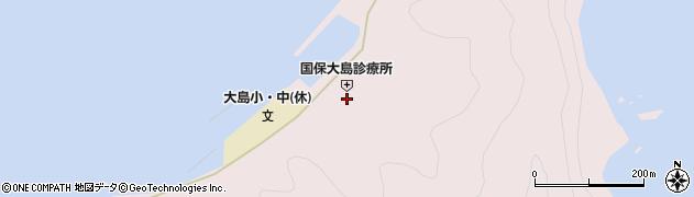 大分県佐伯市鶴見大字大島800周辺の地図