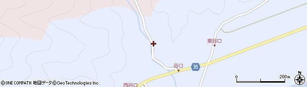 大分県佐伯市弥生大字山梨子779周辺の地図