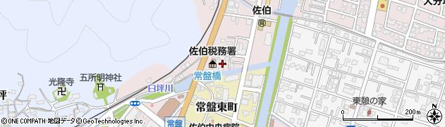 大分県佐伯市蟹田9周辺の地図