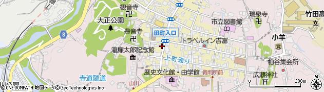 大分県竹田市竹田町456周辺の地図