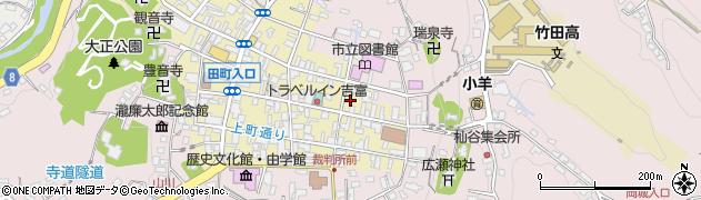 大分県竹田市竹田町145周辺の地図