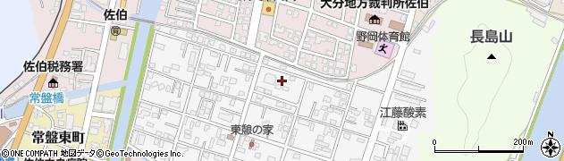 大分県佐伯市東町14周辺の地図