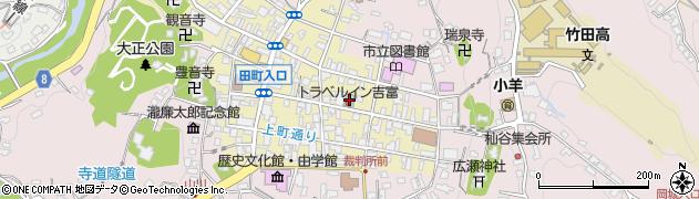 大分県竹田市竹田町134周辺の地図