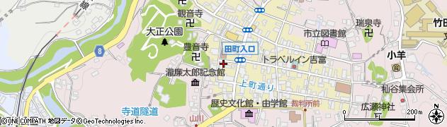 大分県竹田市竹田町460周辺の地図