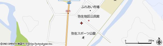 大分県佐伯市弥生大字上小倉1234周辺の地図