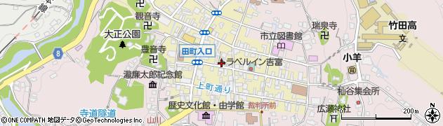 大分県竹田市竹田町260周辺の地図