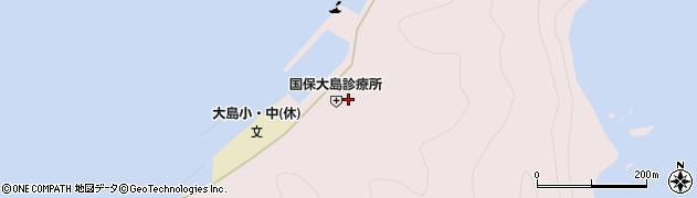 大分県佐伯市鶴見大字大島1603周辺の地図