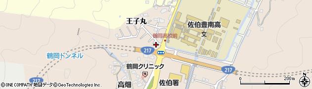 大分県佐伯市鶴望2758周辺の地図