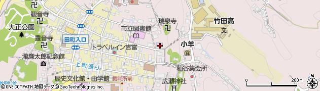 大分県竹田市竹田1987周辺の地図