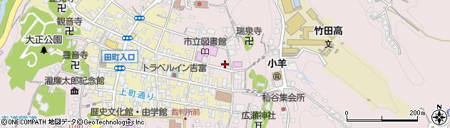大分県竹田市竹田1988周辺の地図