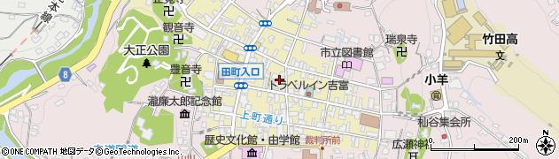 大分県竹田市竹田町267周辺の地図