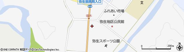 大分県佐伯市弥生大字上小倉761周辺の地図