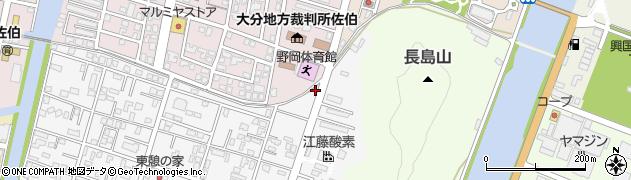 大分県佐伯市東町25周辺の地図