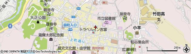 大分県竹田市竹田町192周辺の地図