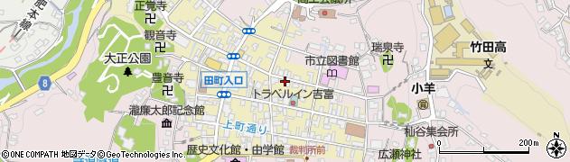 大分県竹田市竹田町198周辺の地図