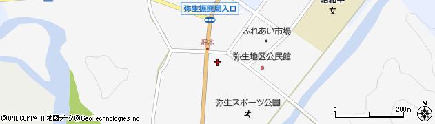 大分県佐伯市弥生大字上小倉1083周辺の地図