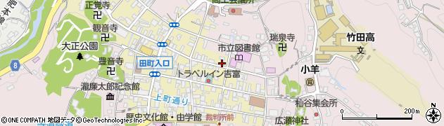 大分県竹田市竹田町213周辺の地図