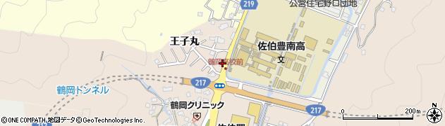 大分県佐伯市鶴望2762周辺の地図