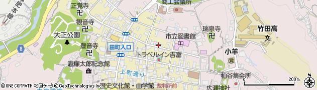 大分県竹田市竹田町203周辺の地図