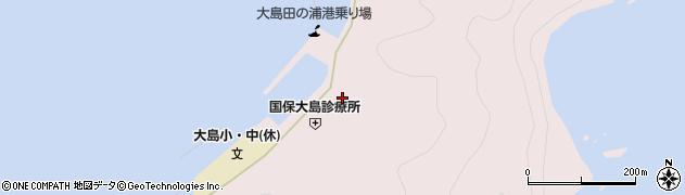 大分県佐伯市鶴見大字大島999周辺の地図