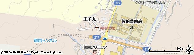 大分県佐伯市鶴望2769周辺の地図