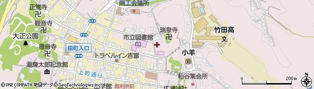 大分県竹田市竹田1986周辺の地図