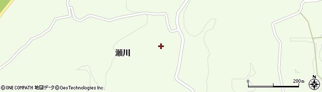 熊本県玉名郡和水町瀬川鶯原周辺の地図