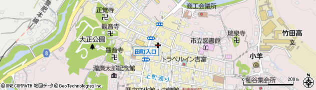 大分県竹田市竹田町282周辺の地図