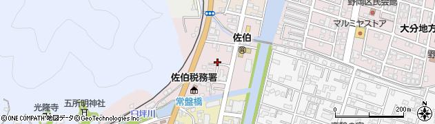 大分県佐伯市蟹田8周辺の地図