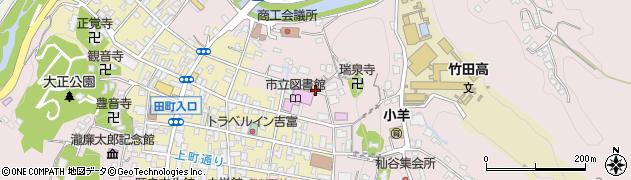 大分県竹田市竹田1958周辺の地図