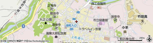 大分県竹田市竹田町372周辺の地図