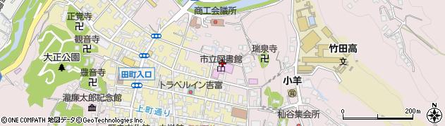 大分県竹田市竹田1979周辺の地図
