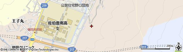 大分県佐伯市鶴望4102周辺の地図