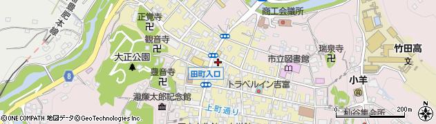 大分県竹田市竹田町373周辺の地図