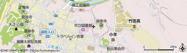 大分県竹田市竹田1980周辺の地図