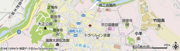 大分県竹田市竹田町290周辺の地図