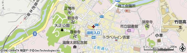 大分県竹田市竹田町496周辺の地図