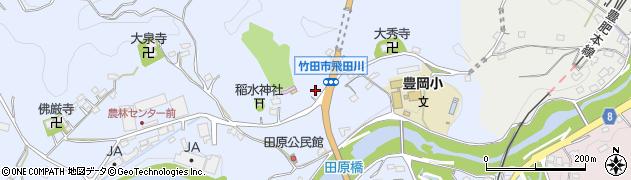 大分県竹田市飛田川1866周辺の地図